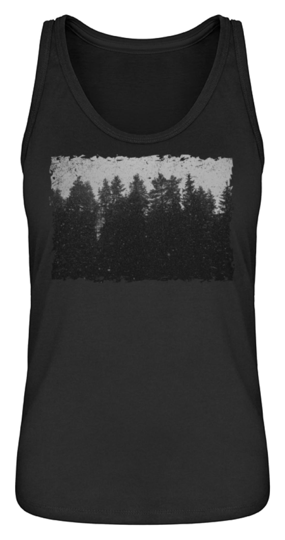 Winter Forest (Tailliert/Damen Premium Organic Tanktop ST/ST)