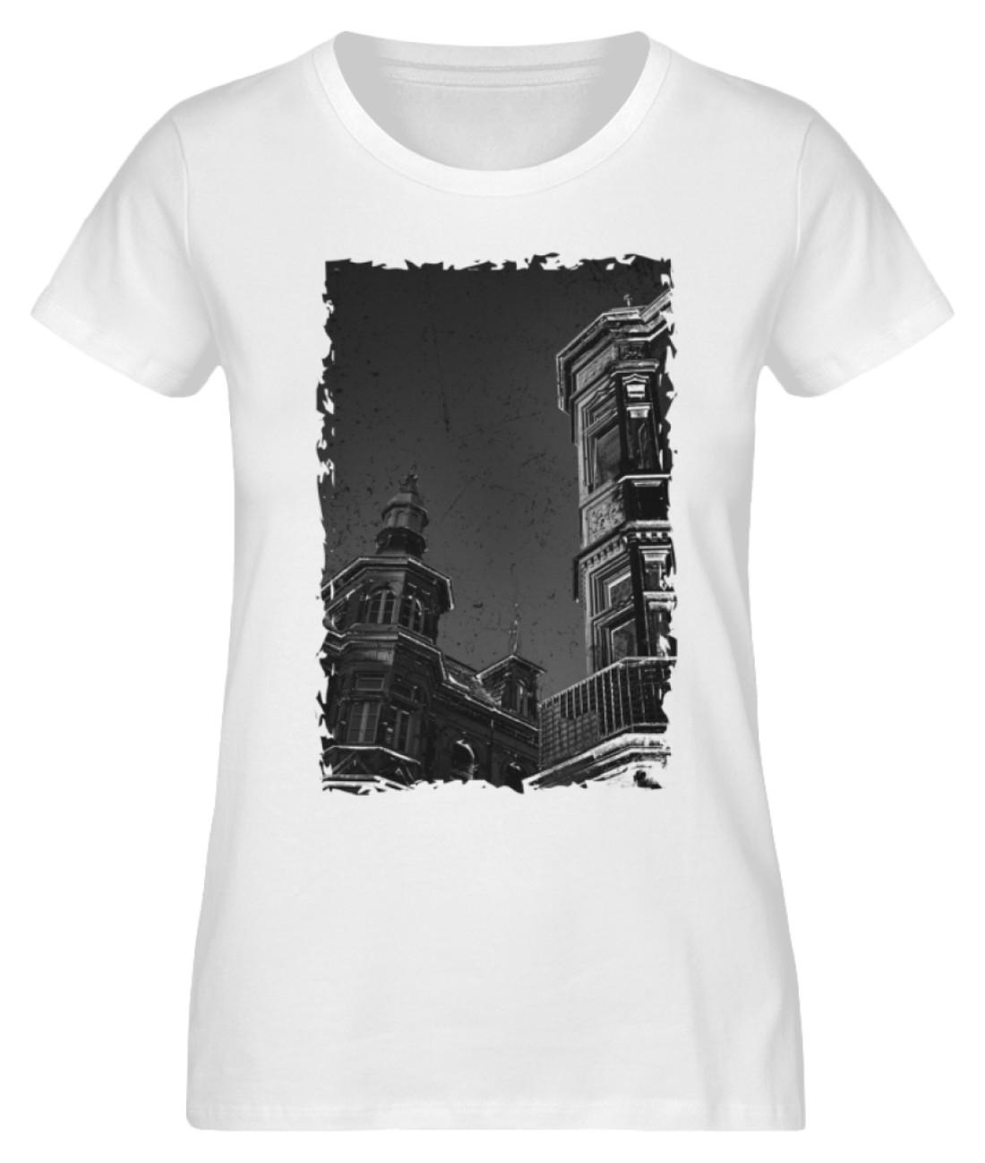 Old Town Freiburg (Tailliert/Damen Premium Organic T-Shirt ST/ST)